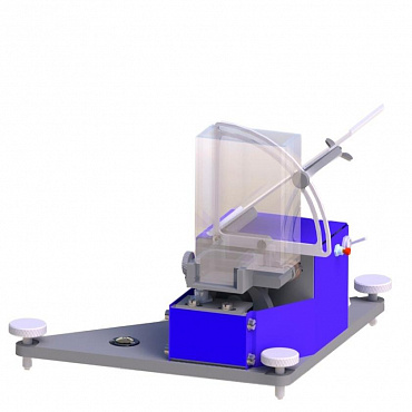 New laboratory device for  loose material natural slope measuring