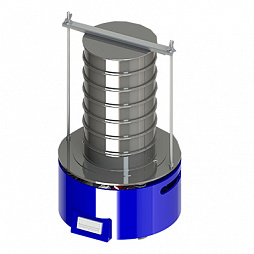 Vibrating testing sieves