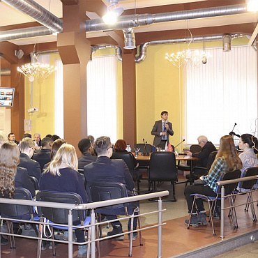On March 6, 2018, the work of the School of Young Scientists continued at REC Mekhanobr Tekhnika